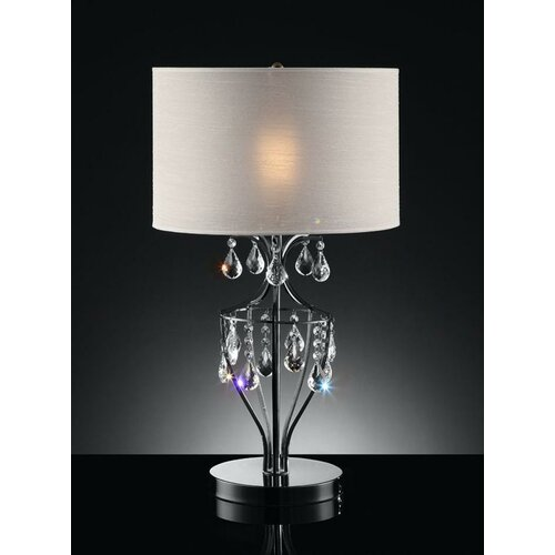 "OK Lighting 29"" H Table Lamp"