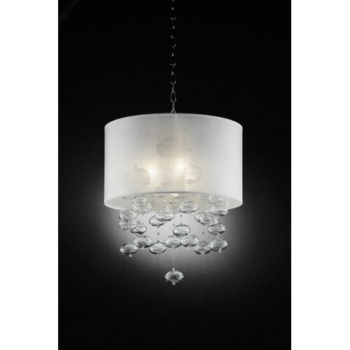 OK Lighting 3 Light Bubble Pendant