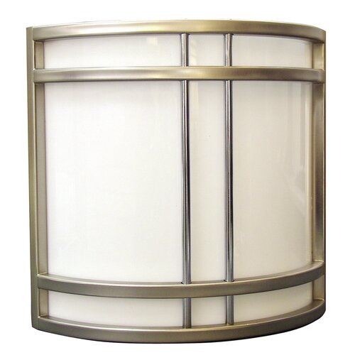 Radionic Hi Tech Biscayne 2 Light Radio City Outdoor Wall Sconce