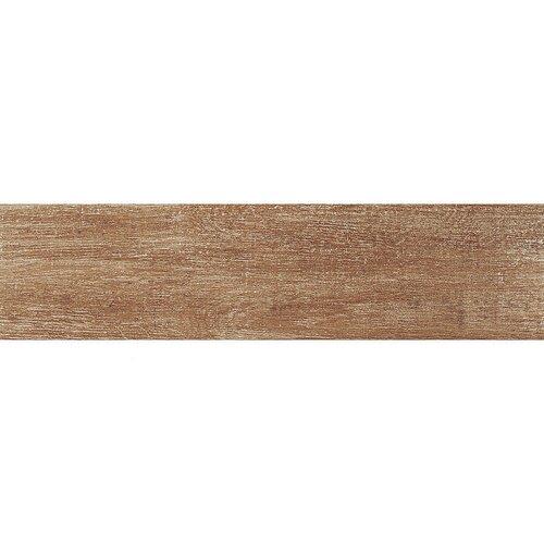 "Samson Barrique 6"" x 24"" Matte Floor Tile in Ocra (Box of 14)"
