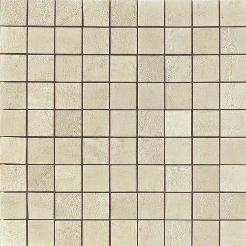 Genesis Matte Mosaic Floor and Wall Tile in Shell