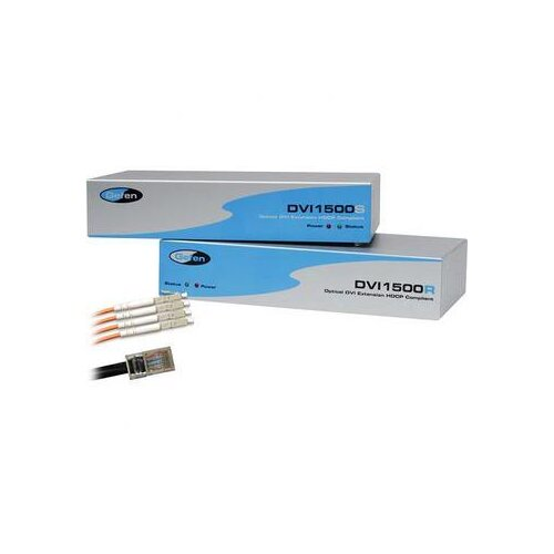 "Gefen 360"" 4 Strand LC-LC Cable and EXT-DVI-1500HD"