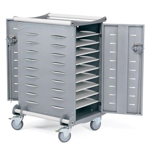 Anthro 20-Compartment Advanced Netbook Charging Cart