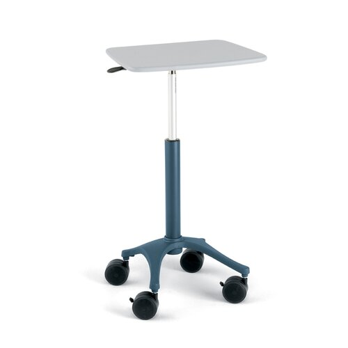 Anthro Anthro Small Carts Zido Mobile Adjustable Height EMR Cart