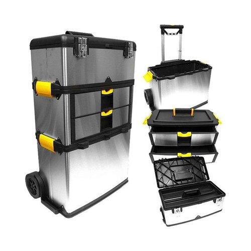 Stalwart Massive and Mobile Tool Box