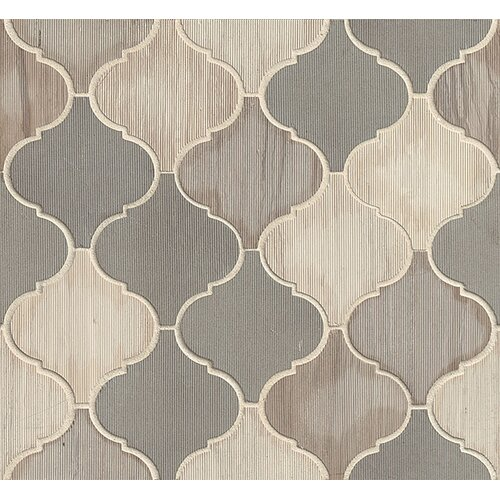 Luxembourg Arabesque Stone Mosaic Tile In Paris Wayfair