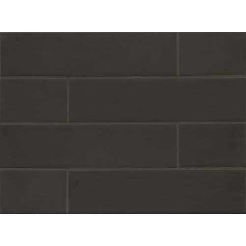 Field Tile Matte in Midnight Manhattan Glass