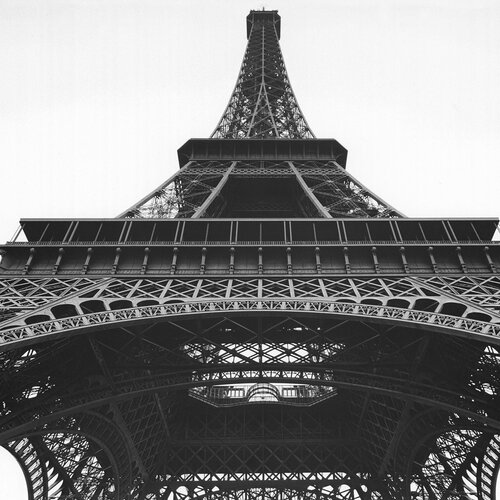 Eiffel Tower Photographic Print on Canvas