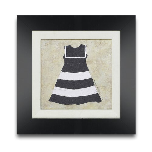 Treasured Trappings Nautical Girl I Framed Graphic Art