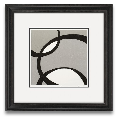 Epic Art Euclid's Charm Ellipse II Framed Graphic Art