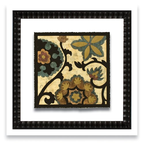 Epic Art Patterns of Passion Vintage Suzani I Framed Graphic Art