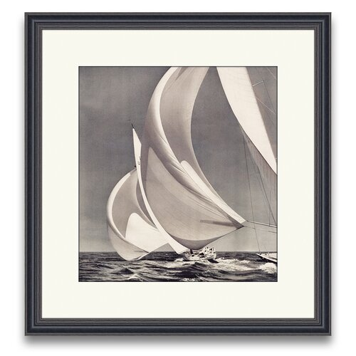 Epic Art Sail Away Spinnakers I Framed Photographic Print