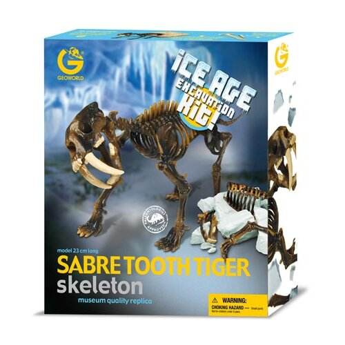 Ice Age Sabre Tooth Excavation Kit