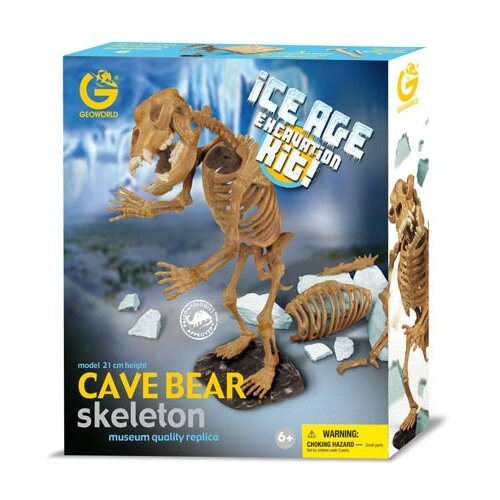 Geo World Ice Age Cave Bear Excavation Kit