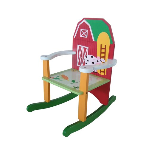 Farm Kids Rocking Chair