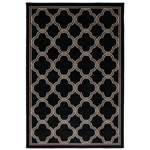 Panoramic Geometric Indoor/Outdoor Rug