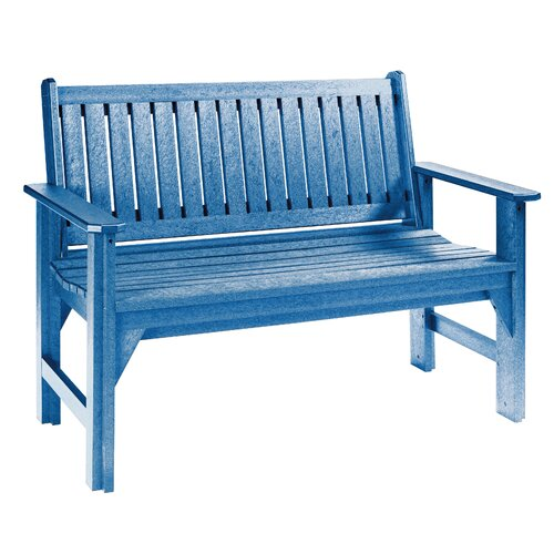 Cr Plastic Products Generations Wood Garden Bench Reviews Wayfair