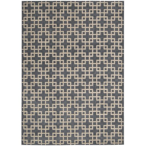 Kathy Ireland Home Gallery Hollywood Shimmer Steel Rug