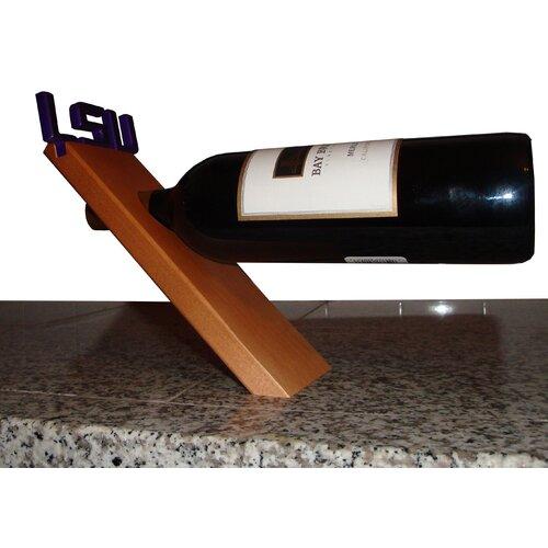 NCAA Floating Stand Tabletop Wine Rack