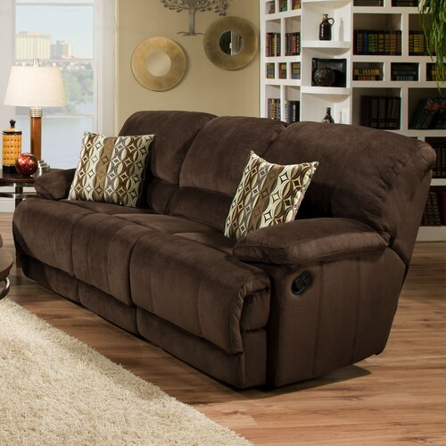 Rhino Beluga Double Reclining Sofa