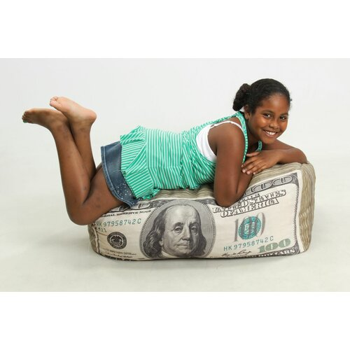 Wow Works LLC Money Junior Inflatable Bean Bag Chair