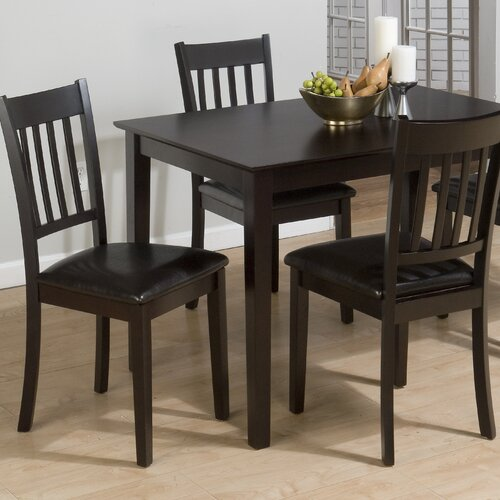 Marin Country Merlot 5 Piece Dining Table Set Reviews Wayfair