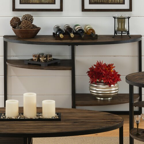 Sherwood Demilune Console Table