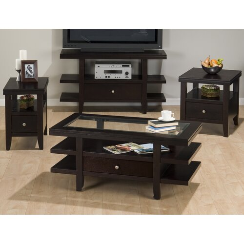 Jofran Mobile Double Header  Coffee Table