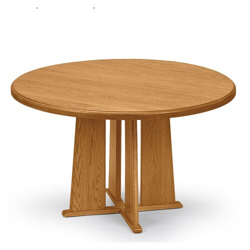 "Lesro Contemporary Series 36"" Round Gathering Table"
