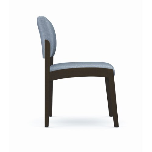 Lesro Lenox Armless Guest Chair with Side View