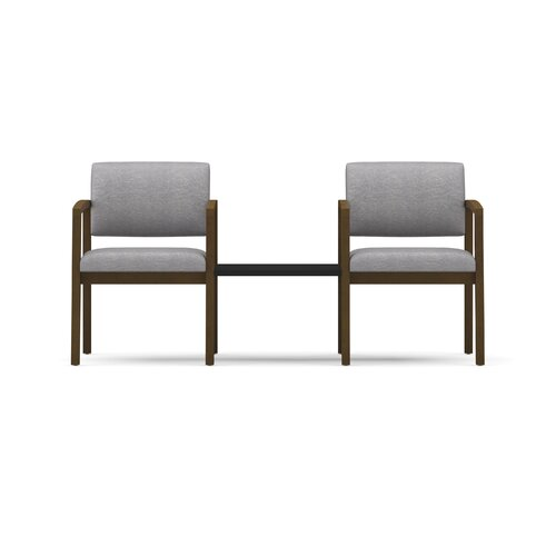 Lesro Lenox Two Chairs with Connecting Table