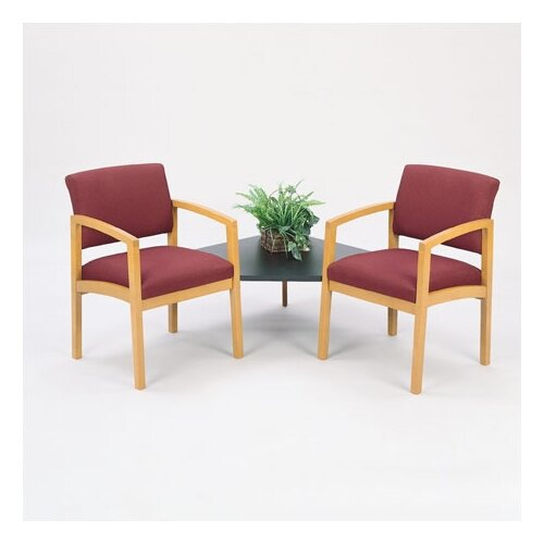Lesro Lenox Tandem Chair with Connecting Table