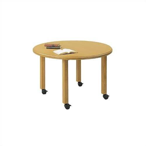"Lesro Contemporary Series 42"" Round Gathering Table"