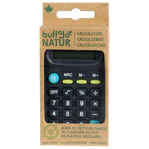 Buffalo Originial Inc 8 Digit Dual Power Calculator