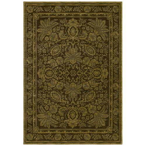 Tommy Bahama Rugs Home Nylon Dark Brown Vintage Lei Rug