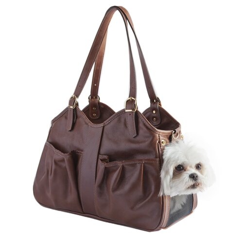 Petote Metro Couture Dog Carrier