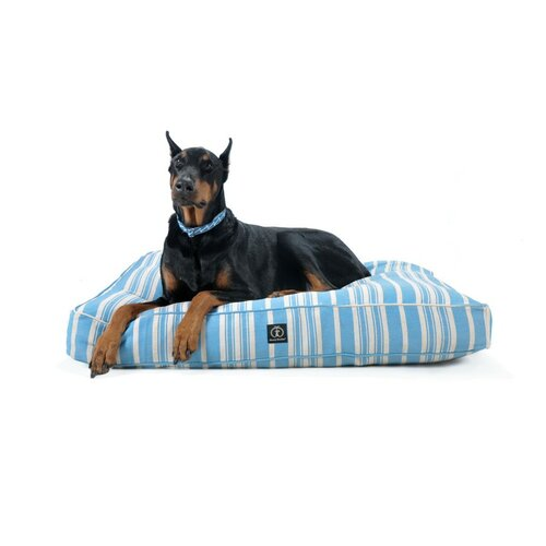 Eco-Friendly Organic Hemp Striped Rectangle Dog Pillow