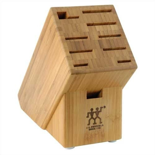 Bamboo 10 Slot Knife Block