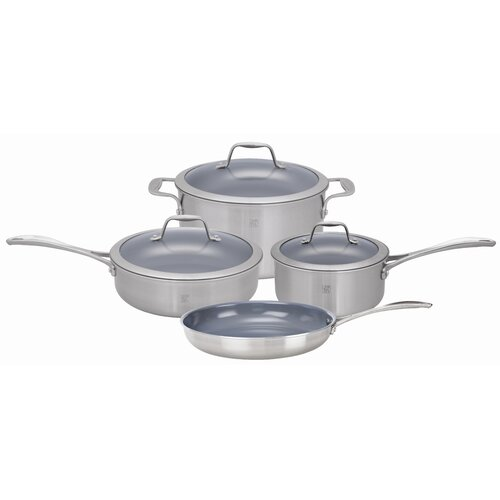 Spirit Nonstick 7-Piece Cookware Set