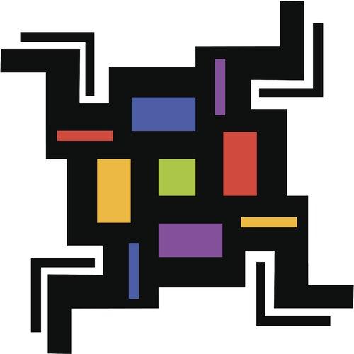 Maze Illustration Graphic Art on Canvas