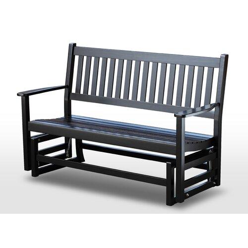 Plantation Solid Hardwood Porch Bench