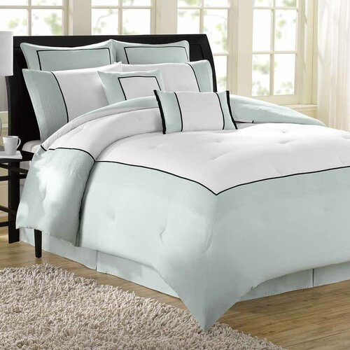 Soho New York Hotel 8 Piece Comforter Set
