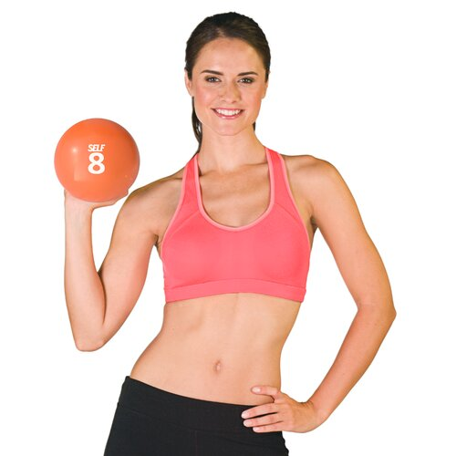 """SELF Fitness 6.42"""" Soft Weighted Ball"""