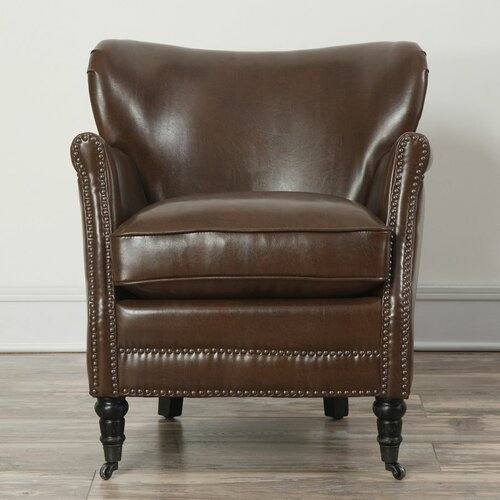Mercer Leather Club Chair