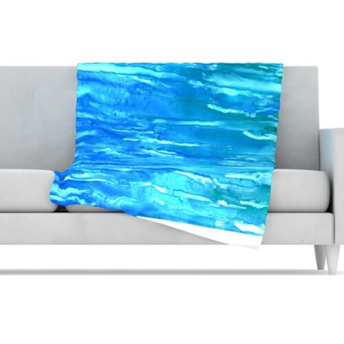 Wet & Wild Fleece Throw Blanket