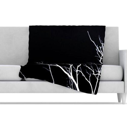 KESS InHouse Winter Fleece Throw Blanket