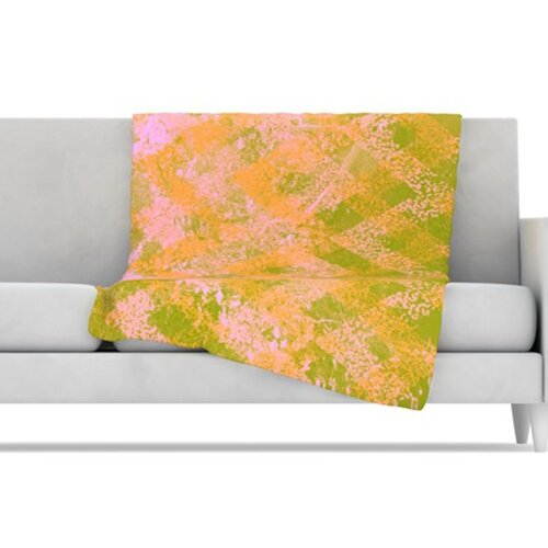 Fuzzy Feeling Fleece Throw Blanket