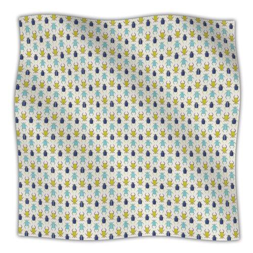 Beetles Microfiber Fleece Throw Blanket