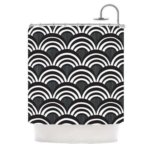 Art Deco Polyester Shower Curtain