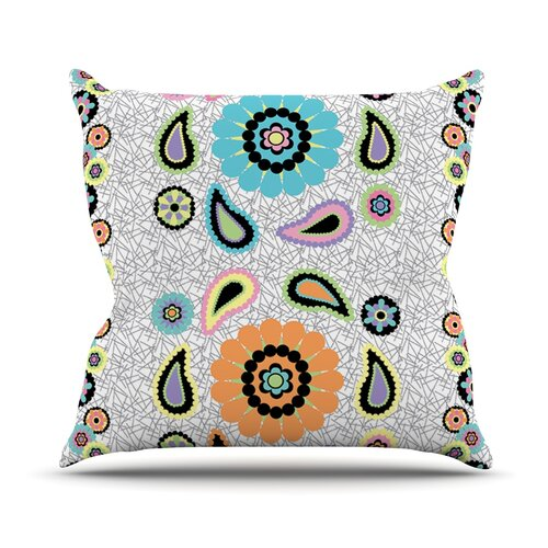 Moda Paisley Throw Pillow
